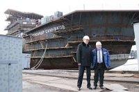 Губернатор Ленинградской области посетил ВСЗ