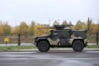 Новый колесный броневик для десантников проходит испытания
