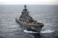 """Через 3-4 года крейсер """"Адмирал Нахимов"""" пополнит боевой состав ВМФ"""