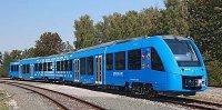 В Германии тестируют пассажирский поезд на водороде