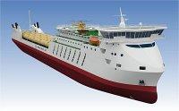 Baku Shipyard приступил к постройке головного парома проекта CNF18C