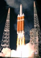 Ракета Delta IV стартовала во Флориде со спутником связи WGS-9