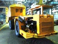 Новый шахтный самосвал МоАЗ-65010 приступает к работе на комбинате КМАруда