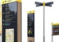 Компания «Швабе-Дизайн» разработала для Екатеринбурга систему пешеходной навигации InCity