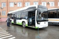Электробус КамАЗ-6282 представлен в Подольске