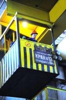 Молодые крановщики ЧМК приняли участие в конкурсе профмастерства