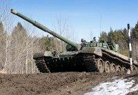 Партия модернизированных Т-72Б3 поступила в 1-ю танковую армию