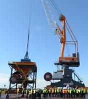 Liebherr-MCCtec Rostock GmbH отгрузила партию кранов в Новороссийск