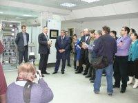 Губернатор Новосибирской области посетил компанию «Модульные Системы Торнадо»