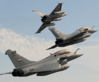 Египет получил от Франции три истребителя Rafale