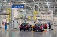 Объемы выпуска автомобилей на петербургском заводе Hyundai растут