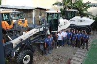 """Компания """"РМ-Терекс"""" поставила первые автогрейдеры на Филиппины"""