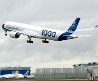 Airbus завершил серию испытаний на шумность самолета A350-1000