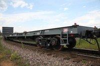 ТВСЗ поставил на производство 80-футовую платформу для перевозки крупнотоннажных контейнеров