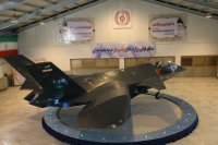 Иран представил новую версию прототипа истребителя Qaher F-313