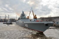 """Фрегат """"Адмирал Горшков"""" планируется передать ВМФ в июле"""