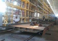 На николаевской верфи SMG выполнили заказ по сборке металлоконструкций для моста