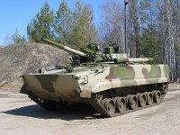 Военные протестируют бронетранспортер БТ-3Ф