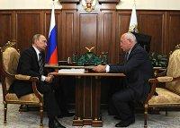 Сергей Чемезов отчитался о деятельности «Ростеха» за 2016 год перед президентом России