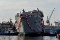 Командованию ВМС Турции передан головной танкодесантный корабль L-402 Bayraktar