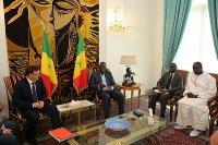 """Руководитель """"КамАЗа"""" встретился с президентом Сенегала"""