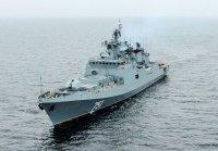 Новейший фрегат «Адмирал Эссен» отправился к месту постоянного базирования