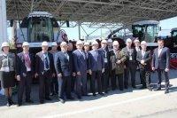 Ростсельмаш посетили руководители АПК трех регионов
