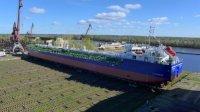 Сормовские судостроители спустили на воду танкер-химовоз