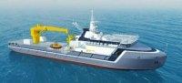 """Новейшее спасательное буксироное судно """"Академик Александров"""" будет спущено на воду для ВМФ"""