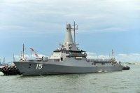 ВМС Сингапура приняли на вооружение патрульный корабль LMV Independence