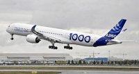 Airbus A350-1000 полетал с пассажирами