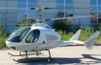 """На лёгкий двухместный вертолёт """"Беркут"""" установлен поршневой двигатель Lycoming"""