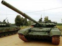 Партия модернизированных танков Т-72Б3 поступила в ЗВО