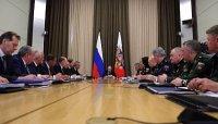 Владимир Путин провел совещание с руководством Минобороны России и ОПК