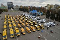 На закупку новых школьных автобусов и скорых для регионов правительство выделит 6 миллиардов рублей