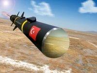 В Турции прошли испытания оперативно-тактической ракеты Bora