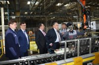 С рабочим визитом на «КамАЗе» побывали руководители фирмы Mangold Consulting GmbH
