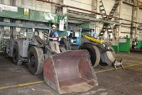 РМЗ ППГХО осваивает выпуск новых моделей горно-шахтной техники