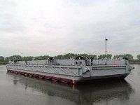 ХСЗ спустил на воду первый понтон причала для Минобороны России