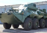 Сформированную мотострелковую бригаду ЦВО оснастили новыми бронемашинами связи Р-149МА1