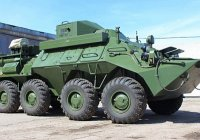 Самарские мотострелки получили новые бронемашины связи Р-149МА1