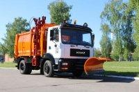 Новый мусоровоз КрАЗ-5401 поставлен в Запорожье