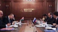 Денис Мантуров провел встречу с коллегой из Белоруссии