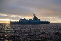 Фрегат «Адмирал Горшков» вышел в море для выполнения очередной фазы госиспытаний