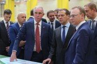 Делегация правительства России посетили индустриальный парк «Заволжье» в Ульяновской области