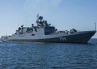 """Фрегат """"Адмирал Макаров"""" пополнит надводные силы Черноморского флота в конце года"""