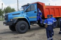Автозавод «Урал» предоставил самосвалы «Урал NEXT» для конкурса профмастерства