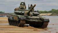 Партия модернизированных Т-72Б3 поступила в 1-ю танковую армию ЗВО