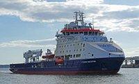 """Верфь Arctech Helsinki Shipyard сдает судно обеспечения для проекта """"Сахалин-2"""""""
