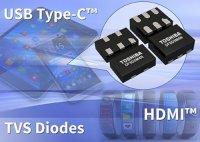 Toshiba представляет многоразрядные TVS-диоды для защиты интерфейсов мобильных устройств
